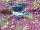 New Italian High Class Designer Knitted Jersey Sequins Fabric