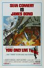 "You Only Live Twice (1967) Movie Silk Fabric Poster 11""x17"" 24""x36"" Rare $11.94 CAD on eBay"