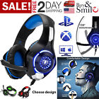 Pro Gaming Headset With Mic Wired XBOX One Pc PS4 Headphones Microphone Beats