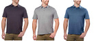 NEW G.H. Bass & Co Men's Short Sleeve 3 Button Polo Shirt - VARIETY