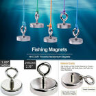 US Fishing Magnet Hook Strong Magnetic Round Thick Tool 91/150/180Lbs