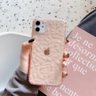 For iPhone 11 Pro Max XS XR X 8 7 Plus Diamond Texture Clear Soft TPU Case Cover