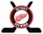 "Detroit Red Wings Sticks Logo NHL Sport Car Bumper Sticker Decal ""SIZES'' $3.75 USD on eBay"