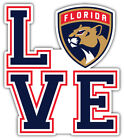 "Florida Panthers Love NHL Sport Car Bumper Sticker Decal ""SIZES'' $4.5 USD on eBay"