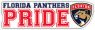 Florida Panthers Pride NHL Sport Car Bumper Sticker Decal  ''SIZES'' $4.75 USD on eBay