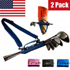 Value Mini Golf Club Bag 2 Pack Travel Driving Range Carrier Sleeve Set 3 Colors