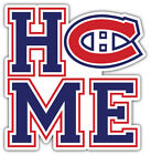"Montreal Canadiens Home NHL Sport Car Bumper Sticker Decal ""SIZES"" $3.75 USD on eBay"