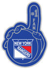 "New York Rangers Puck Hand NHL Sport Car Bumper Sticker Decal ""SIZES'' $4.25 USD on eBay"