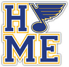 "St. Louis Blues Home NHL Sport Car Bumper Sticker Decal  ""SIZES"" $4.25 USD on eBay"
