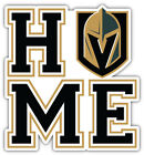 "Vegas Golden Knights Home NHL Sport Car Bumper Sticker Decal  ""SIZES"" $3.75 USD on eBay"