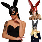 Cute Ears Rabbit Bunny Mask Bondage Party Costume Cosplay Halloween Masquerade