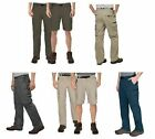 BC Clothing Men's Convertible Stretch Cargo Hiking Pants Pockets Zip 1012878 NWT