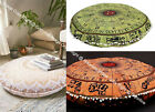 Best Christmas Gift Indian Mandala Round Floor Cushion Cover Pet Dog Bed Covers