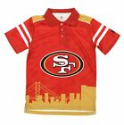 NFL Youth San Francisco 49ers City Poly Polo, Red $19.95 USD on eBay