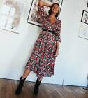 ZARA LACE FRILLED PUFF SLEEVES TEXTURED TOP WITH RUFFLE TRIMS FLOUNCE BLOUSE