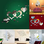 3d Mirror Decal Diy Mural Wall Stickers Home Room Office Diy Decor Decoration