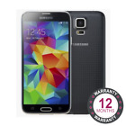 Samsung S5 16GB 32GB Unlocked Sim Free White Black Blue Refurbished Smartphone