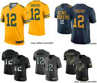 NEW NFL Aaron Rodgers Men Green Bay Packers #12 National Football League jerseys $59.99 USD on eBay