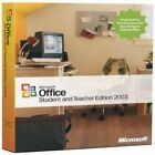 Microsoft Office Student and Teacher Edition 2003 w/ Product Key & Booklet