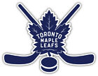 "Toronto Maple Leafs Sticks NHL Sport Car Bumper Sticker Decal ""SIZES'' $4.25 USD on eBay"