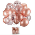 10 Pack Confetti Balloons Latex 12