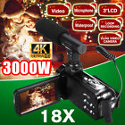 3.0 IN Full HD1080P16X Digital Camera YouTube Vlog Video Camcorder 30MP Remote
