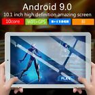 10.1'' Tablet 8G 128GB Android 9.0 bluetooth WiFi 4G Dual SIM Camera GPS Phablet