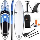 10.5' SUP Inflatable Stand up Paddle Surfing Sea Board with Adjustable Backpack