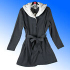 AVON Ladies Dressing Gown Robe Wrap Cosy Hood Lounge Wear Plus Size 6-24 rrp £30