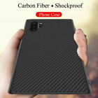 For Samsung Galaxy Note 10 Plus 5G Slim Synthetic Carbon Fiber Matte Case Cover