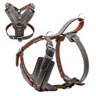 Leather No Pull Extra Large Dog Harness Big Pet Vest Rottweiler Boxer XL 2XL 3XL