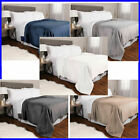 NEW Kirkland Signature Plush Blanket - VARIOUS SIZES AND COLORS image