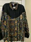 Ladies Plus Size Vintage Rockies Western Shirt New old stock with tags