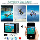 1080P/4K Action Camera Outdoor Sports Cam With Waterproof Casing Accessory Set