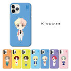 Official K-pop BTS Standing Slim Fit Hard Phone Case Cover + Free Gift