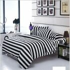 New Cotton Blend Bedding Set Duvet Cover Flat sheet Bed Sheet Pillowcase Fitted  image