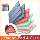 "For Xiaomi Mi Pad 4 8"" Plus 10.1"" Tablet Soft TPU Smart Leather Stand Case Cover"