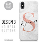PERSONALISED PHONE CASE COVER INITIALS NAME HARD FOR APPLE IPHONE 6 7 8 XR 11 SE