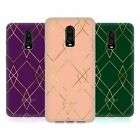 NATURE MAGICK ART DECO GEOMETRIC GOLD SOFT GEL HÜLLE FÜR AMAZON ASUS ONEPLUS