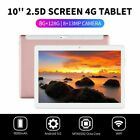 """10.1"""" inch WIFI/4G-LTE 8G+128G Android 9.0 HD PC Tablet Pad SIM GPS Dual Camera"""