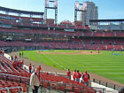 2 CARDINALS vs. Reds 06 20 2020 Sat. Lower Right Field Box 131 Row 2