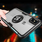 For iPhone X XR XS Max Ultra Crystal Clear Transparent Hybrid Hard Case Cover