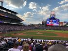 2 Infield Tickets Colorado Rockies vs Philadelphia Phillies 5/23 on Ebay
