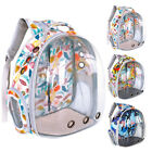 Puppy Pet Carrier Bag Portable Capsule Outdoor Travel Backpack Breathable Tote