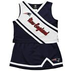 Outerstuff NFL Little Girls New England Patriots Cheerleader Two Piece Set $12.99 USD on eBay