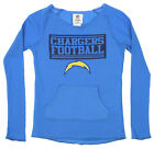 Outerstuff NFL Youth Girls Los Angeles Chargers Vintage Thermal Fleece Shirt $22.5 USD on eBay