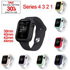 Apple Watch Series 1 2 3 4 38mm 40mm 42mm 44mm Bumper Case Protector Silicone