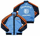 Adidas NBA Basketball Youth Charlotte Bobcats On The Court Warm Up Jacket, Blue on eBay