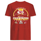 Kansas City Chiefs Champions 2020 Super Bowl Red T-shirt Unisex S-5XL $7.99 USD on eBay
