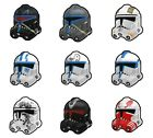 Arealight Custom P2 Clone TROOPER Helmet for Star Wars Minifigs -Pick Color!